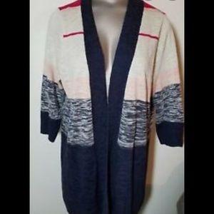 Torrid 3/4 Sleeve Cardigan Size 4 NWOT